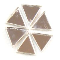 10mm Triangle Mirror: Set of 6