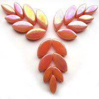 103p Iridised Apricot Petals: 50g