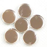 10mm Round Mirror: Set of 6