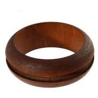 Wooden Bracelet: Groove