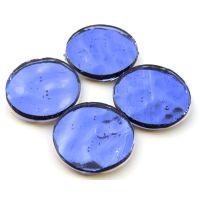 25mm: Purple Wavy: 4 tiles