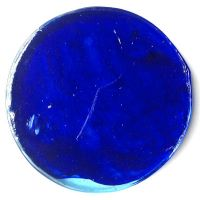 15cm Round: Streaky Blue