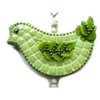 Hanging Decoration: Green Bird