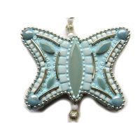 Hanging Decoration: Aqua Butterfly