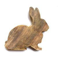 Wooden Bunny: 30cm