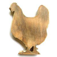 Wooden Chicken: 22cm