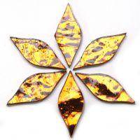 Small Petals: AR30 Copper Wavy: 6 tiles