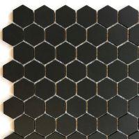 Noir: 25mm Hexagon
