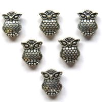 10mm Owls: Set of 6
