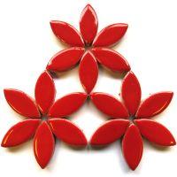 H401 Poppy Red 25mm Petal