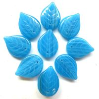 18mm Leaf: Turquoise