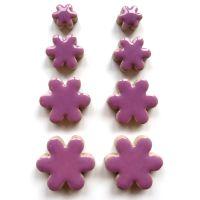 Flower Charm: Pretty Purple H43