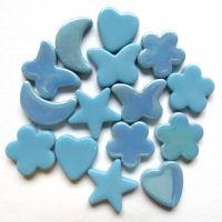 Glass Charm: Turquoise