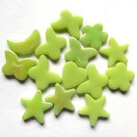 Glass Charm: Acid Green