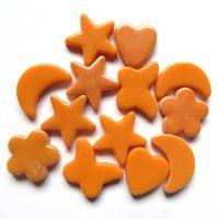 Glass Charm: Orange