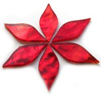 Small Petals: AR01 Red Wavy