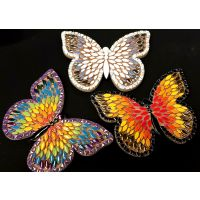25cm Admiral Butterfly: Swarm of 3