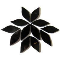 Small Petals: MG26 Pure Black: 12 pieces