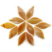 Small Petals: MG72 Butterscotch: 12 pieces