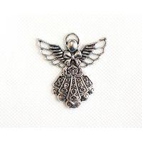 Silver Filigree Angel
