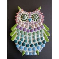 Owlet: 15cm Teal/Purple