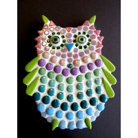 Owlet: 15cm Teal/Purple (Pack of 10)