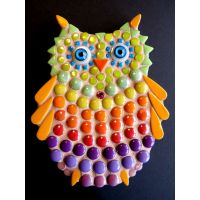 Owlet: 15cm Multi-colour (pack of 10)