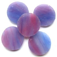 25mm MG33 Very Berry: set of 5