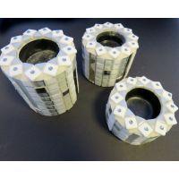 Cozy Candleholder (set of 3): White
