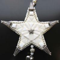 Hanging Decoration: White Star